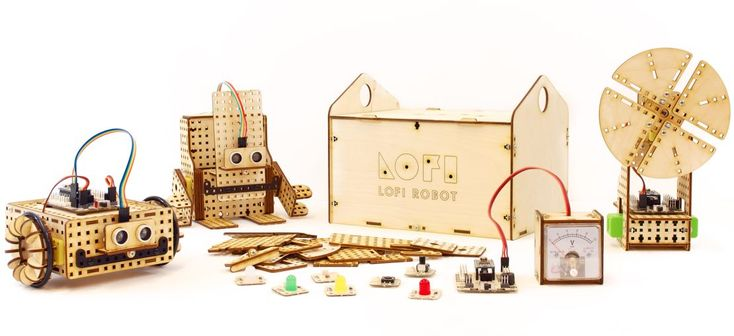 LOFI Robot EDUBOX - robot construction kit