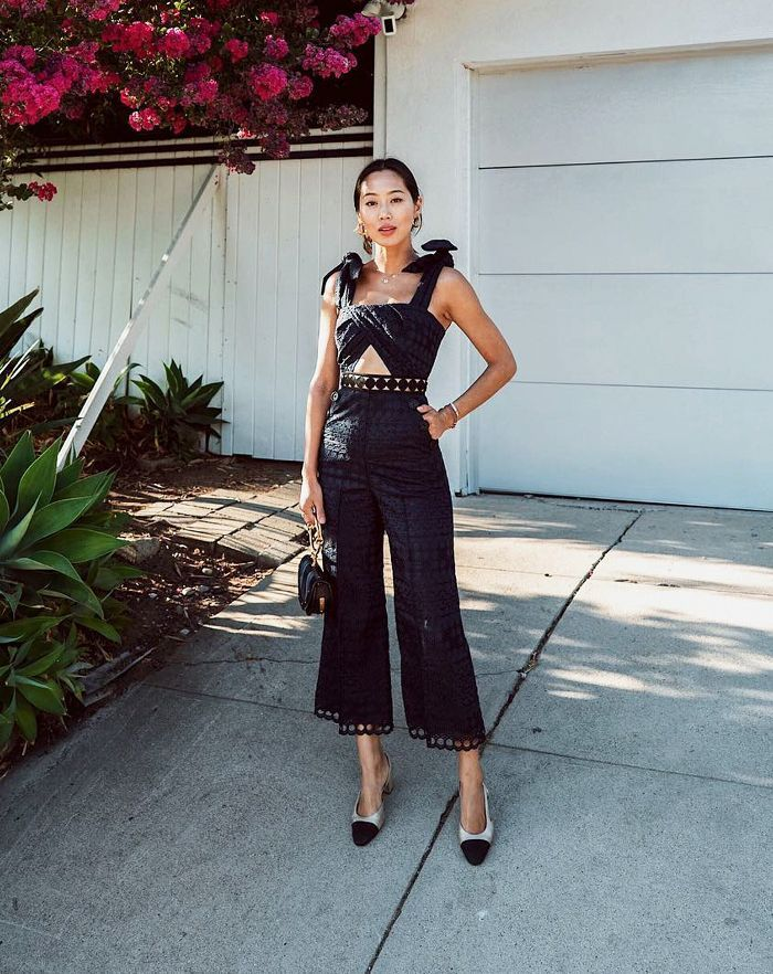 6bf4a5bcd1 12 Easy Wedding Guest Outfit Ideas That Will Work Every Time in 2019 |  women fashion | Outfits, Wedding jumpsuit, Wedding guest style