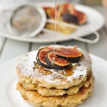 Apple and Greek Yogurt Pancakes