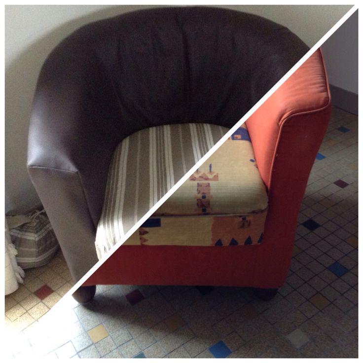 Relooking d'un vieux fauteuil