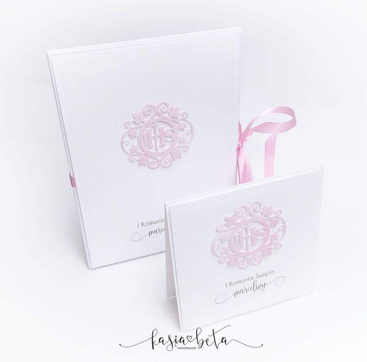 Album harmonijka, folder cd - komunia św.