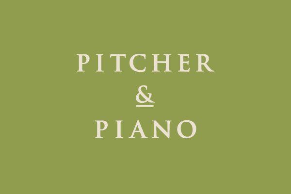 Pitcher & Piano rebrand