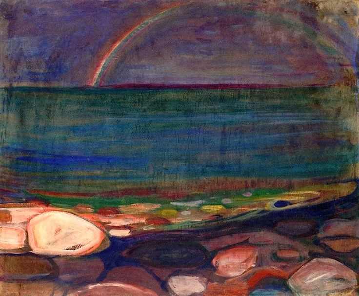 The Rainbow Edvard Munch - 1898