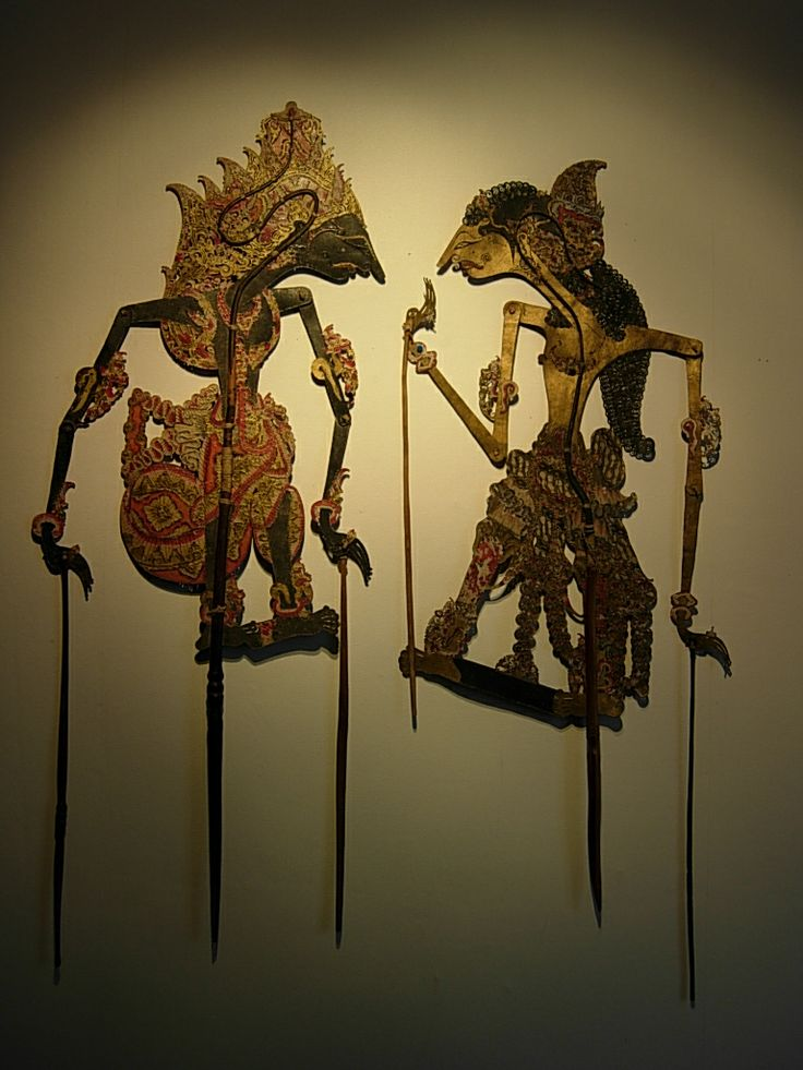 Wayang kulit from Indonesia
