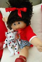 CABBAGE PATCH VINTAGE JESMAR SPAIN FRECKLES GIRL HM4 CPKIDS CLOTHES TEDDY BEAR