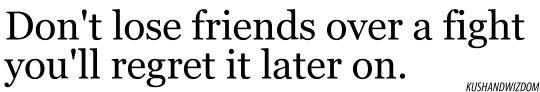 Losing a friend
