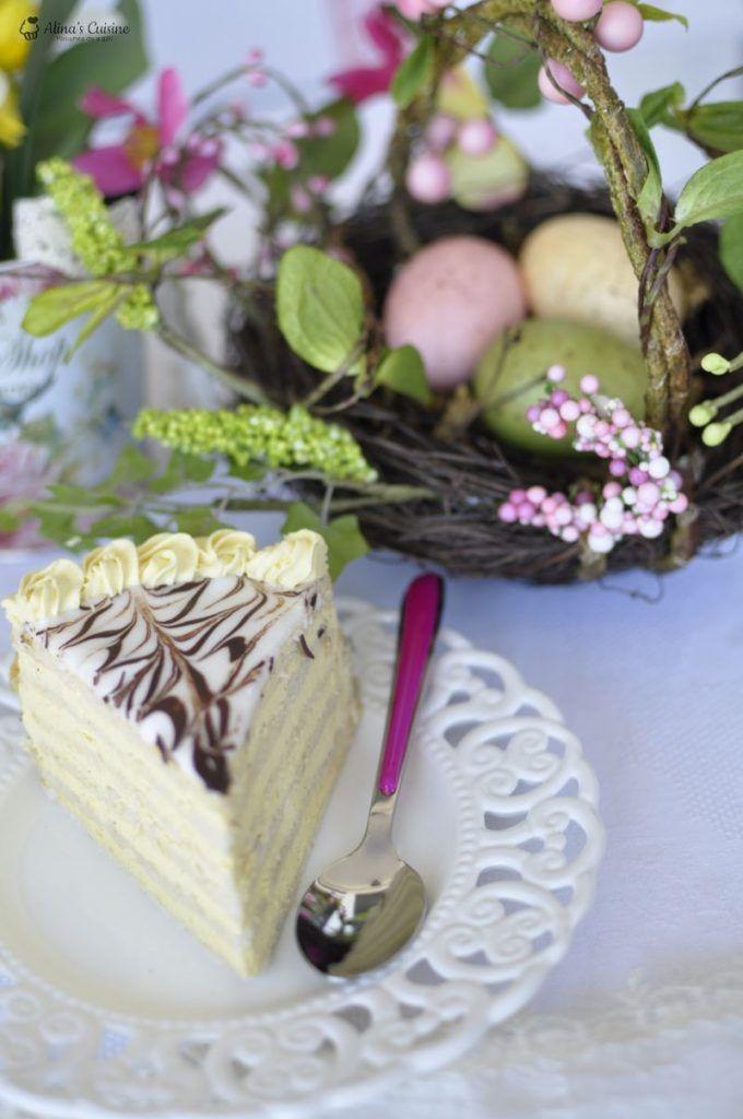 Tort Esterhazy — Alina's Cuisine