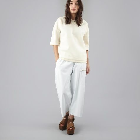 MM6 Leather Pant - White
