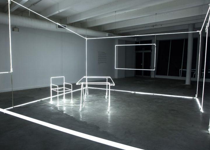 Bentley Light installation at Design Miami 2014 by Massimo Uberti installation exhibition
