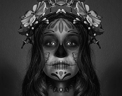 "Check out new work on my @Behance portfolio: ""CATRINAS día de muertos México 2015"" http://on.be.net/1LGM5X8"