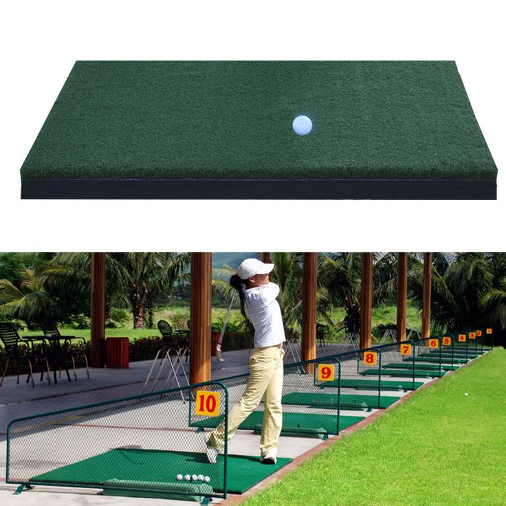 """Nylon Golf Practice Mat Hitting Grass Driving Holder Outdoor Indoor Training Backyard  Description: Name: 12"""" x 24"""" Nylon Golf Mats Turf Chipping Driving Range Practice Mat Training Aid Material: Nylon  EVA Color: Dark Green Size: (L)X(W)X(H) 60X30X3cm /23.62''X11.81''X1.18""""(appr.) Features: Can be used indoor or outdoor activities. Made of nylon and EVA material lifelike and easy foldable. It is excellent for the casual or beginner golfer. Greatly help to elevate your golf ball for a…"""