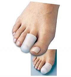 All Gel Toe Caps absorb pressure and friction to help prevent and ease pain from ingrown nails, corns, hammer toes, blisters and more. The Gel Toe Caps with stretches to accommodate any toe, so you don't have to worry about sizing. Made of Visco Gel, the Toe Caps slowly release medical grade mineral oil to soften and moisturize skin.