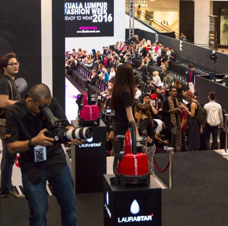 Fashion Week Kuala Lumpur 2016 - Laurastar, the OffIcial Partner, proud to bring you wrinkle-free runways!