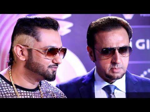 Yo Yo Honey Singh at the red carpet of the GiMA Awards 2016.
