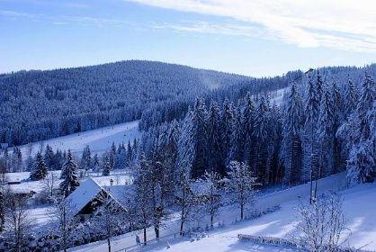 Areál U Horejšů, ubytování Šumava, penzion, Zadov - Galerie - Category: Zima na Šumavě