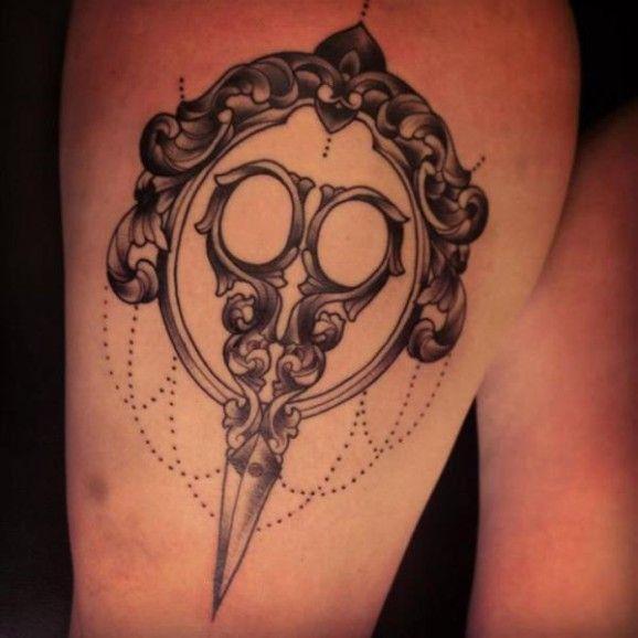Scissor Tattoos Scissors Tattoo And Scissors: Best 25+ Hair Scissor Tattoos Ideas On Pinterest