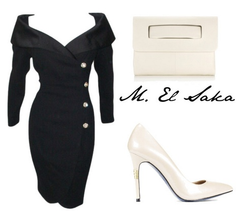 Sexy 60's style dress. <3