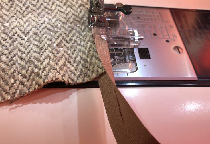 Лапка для косой бейки: как пользоваться