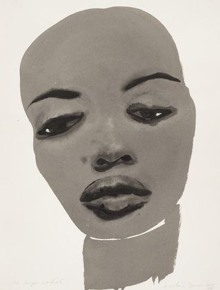 MARLENE DUMAS, THE SUPERMODEL 1995: Naomi