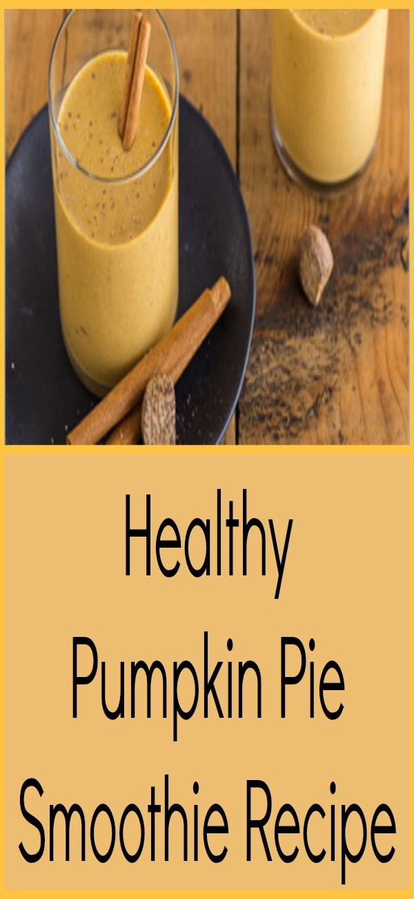 RePin this!  This is a must try healthy recipe from The Daniel Plan.  In the Fall mood and ready for some pumpkin pie but want to skip out on the calories?  Try this healthy Pumpkin Pie Smoothie Recipe we know you will love!