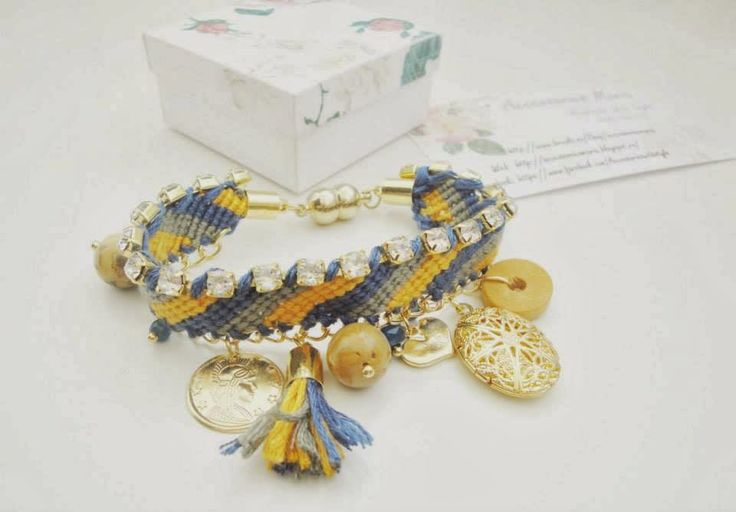 Accessories Maria #Colorful #bracelets #gold #handmade #jewelry #accessories #fashion #2014 #spring #summer #love #fericire #Sibiu #friendship