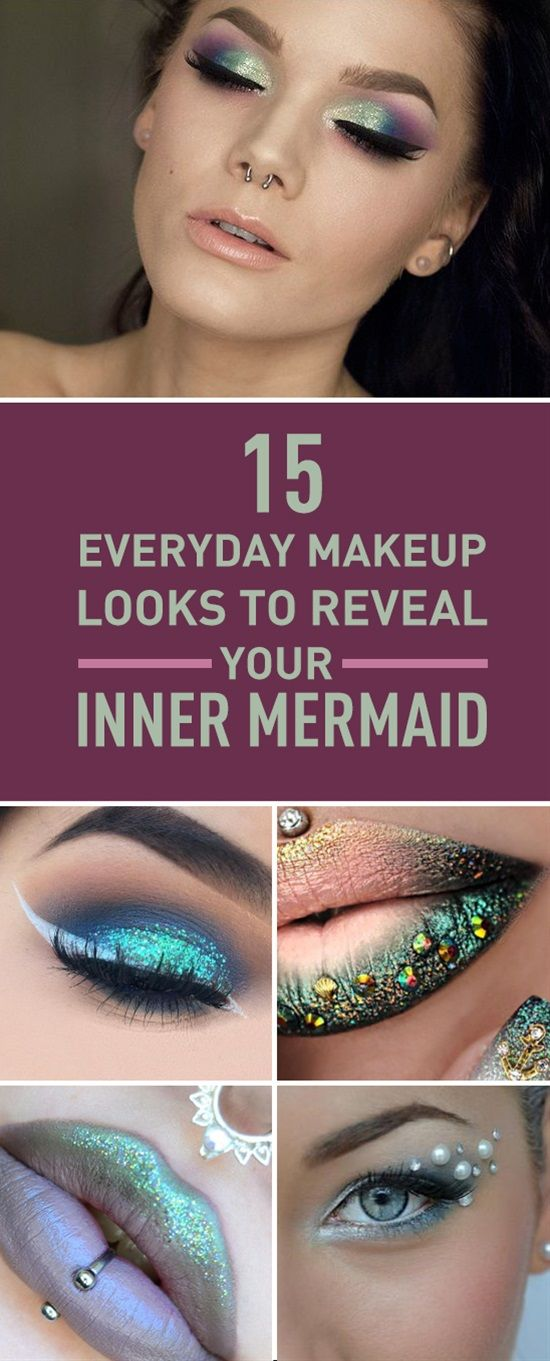 Almost every girl wishes she was a mermaid of course we know you really are one. Let your friends know it too with these stylish mermaid inspired looks you can pull off every day. And if they still donât work it out consider something a little more severe.