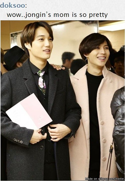YES, I WAS LOOKING FOR THIS! Last time I saw this, I didn't know who Taemin was yet, so it wasn't as funny