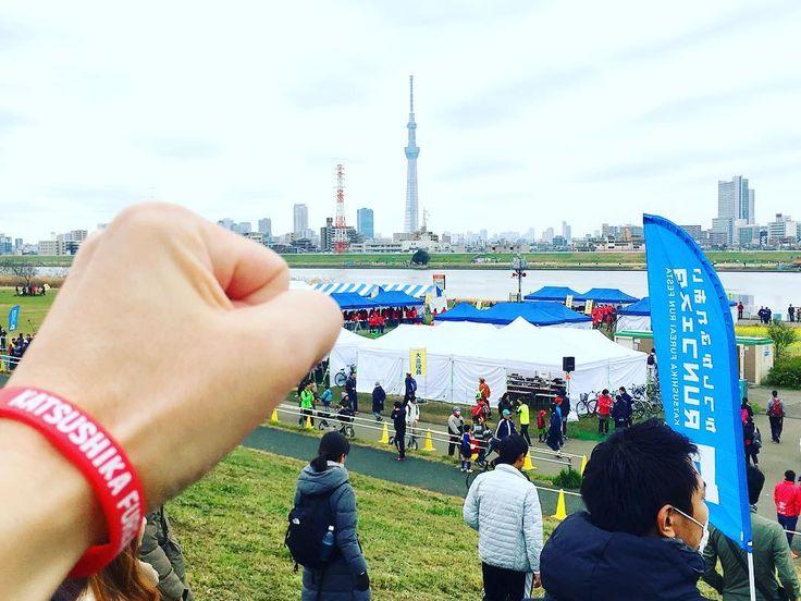 今日は関西では篠山マラソン中部では名古屋ウィメンズ関東では横浜マラソン参加される皆さんファイトでーすほんで俺は今シーズンラストのかつしかふれあいランフェスタハーフですが何か問題でも() #かつしかふれあいrunフェスタ by miniclubman0131