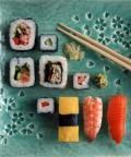 Best Sushi for weight loss - sashimi, brown rice, soba, veggie rolls.  Worst - anything with mayo or cream cheese, fried/crunchy topping.  Watch serving sizes..
