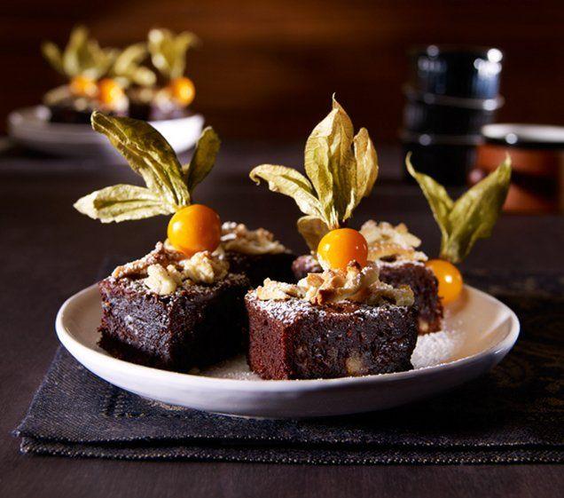 Marzipan-Brownie  Rezept | Dr. Oetker