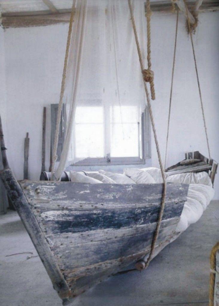 boot bed | De meest originele kinderkamer ideeën op een rijtje.. - Makeover.nl