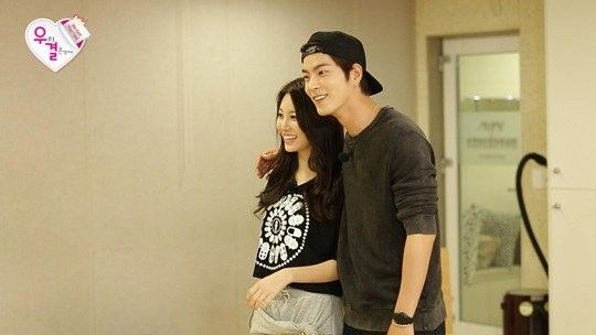 Hong Jong Hyun and Yura