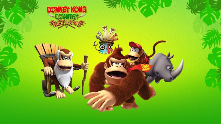1920x1080 Picture for Desktop: donkey kong country returns