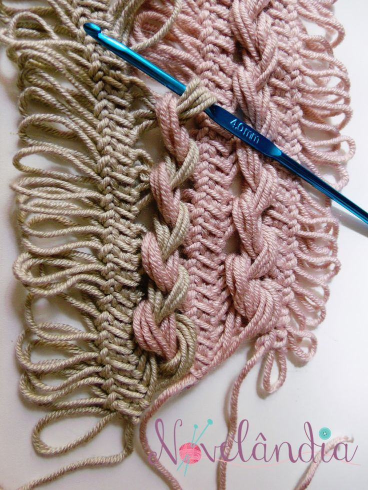Olá Cliente e seguidores !!!  Mais uma receita Novelândia para vocês e desta vez em crochê de grampo,unindo duas cores bem delicadas e ne...