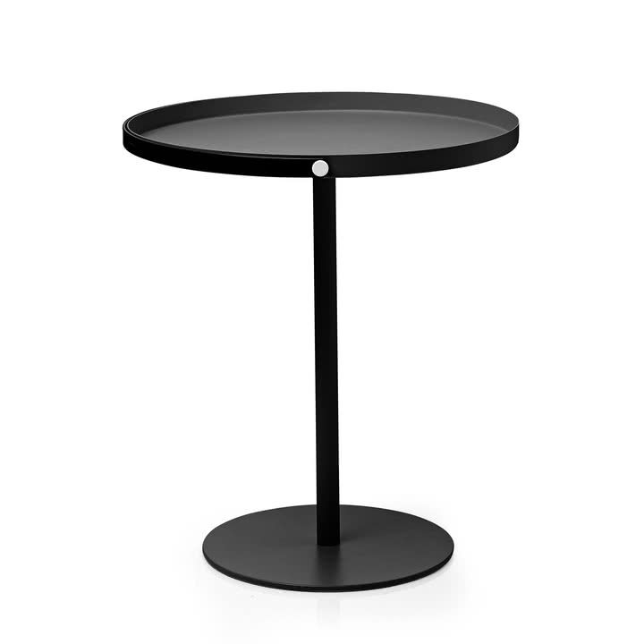 to go table von design letters in schwarz - Fantastisch Haecker Lack Matt Schwarz