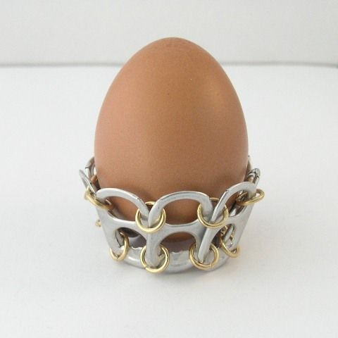 tabsolute: day 92. Pop tab egg holder