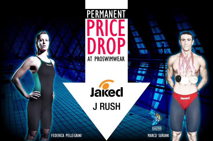 ‪#Jaked‬ J Rush - Permanent Price Drop at ProSwimwear !  With their new J-Rush tech suits Jaked are offering previously un-matched comfort levels, a new lightweight fabric (145g/m²) AND they've interlaced carbon fibre into the material itself for a stronger race suit with higher levels of compression.  Get Maximum comfort and hard muscle compression with the Jaked J-Rush!  http://www.proswimwear.co.uk/brands/jaked-brand/jaked-performance-swimwear/jaked-j-rush.html  ‪#swimming‬ ‪#kazan‬