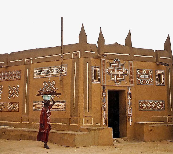 Africa   Typical architecture in Zinder, Niger   © via valtram, via flickr