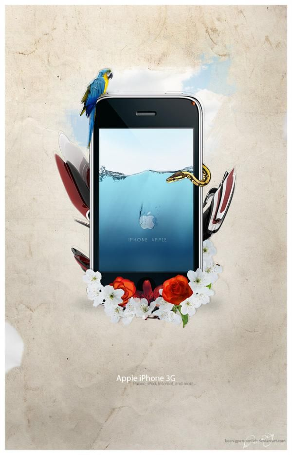 18 Creative Iphone Advertisements