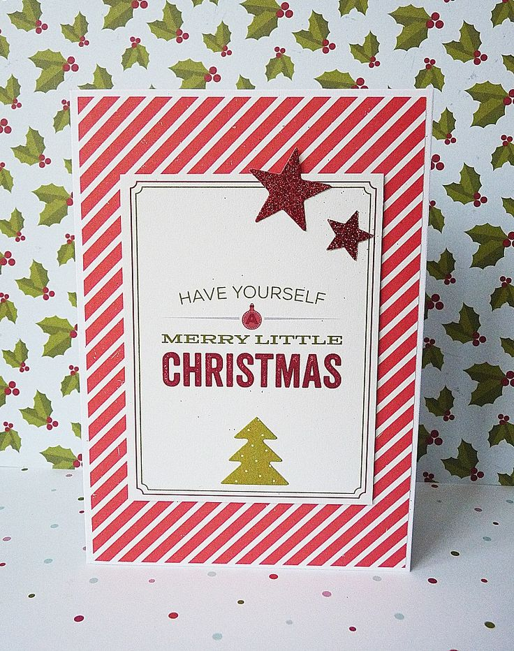 have yourself amerry little christmas stars card || shimelle true stories & shimelle christmas magic