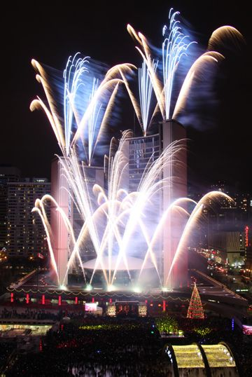The annual Cavalcade of Lights marks the official start of the holiday season in Toronto