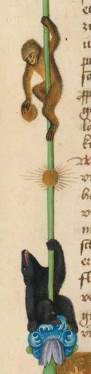 Furtmeyr-Bibel (Deutsche Bibel, Altes Testament, Bd. 1: Genesis - Rut) um 1468 - 1470 Sign. Cod.I.3.2.III (Oettingen-Wallersteinsche Bibliothek) Folio: 3r
