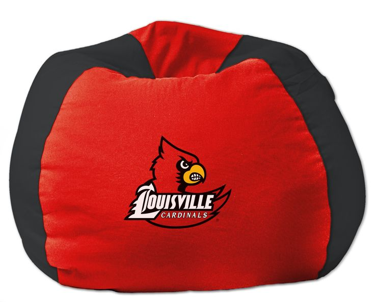 Louisville Cardinals NCAA Bean Bag Chair By The Northwest Company