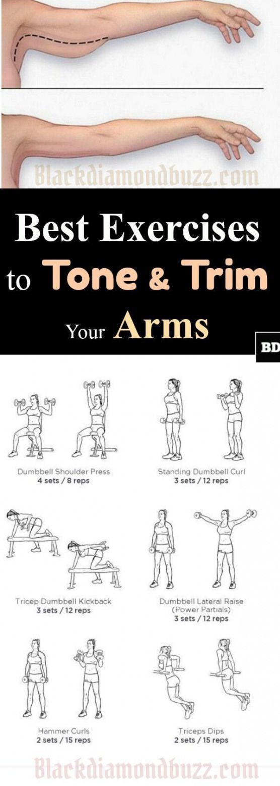 Best exercises to tighten and trim the arms: The best workout to get rid of flabby arms