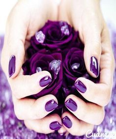 Love this deep purple!!