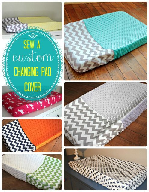 How to sew custom changing pad cover- for D&T's bub perhaps?