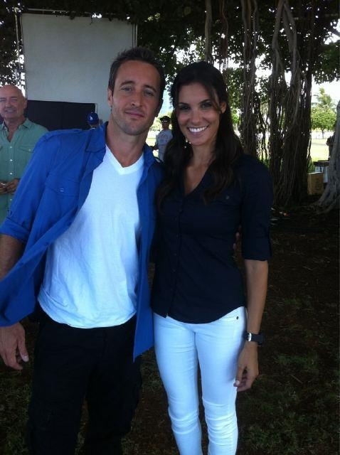 Alex O'loughlin and Daniella Ruah