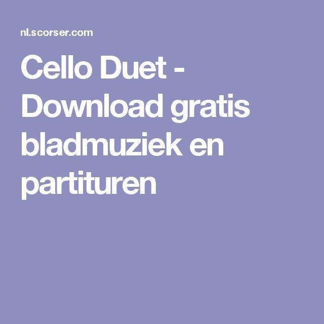 Cello Duet - Download gratis bladmuziek en partituren