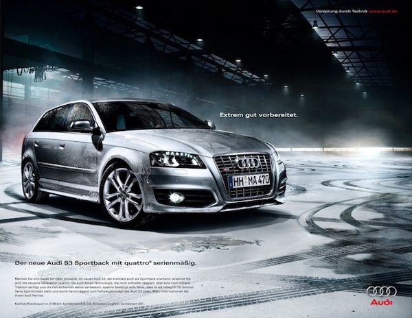 AUDI - Sportback A3 Common-Rail-Diesel on Behance