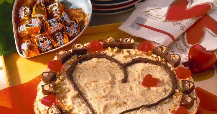 Hazelnut Heart Cake Recipe